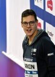 澳大利亚奥林匹亚、世界冠军和纪录创造者米歇尔LARKIN AUS 库存照片
