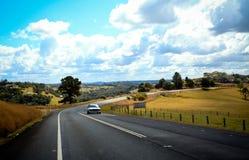 澳大利亚山路 免版税图库摄影