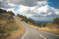 澳大利亚山高速公路 库存照片