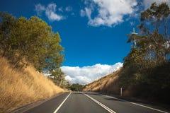 澳大利亚山高速公路 免版税图库摄影