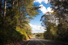 澳大利亚山高速公路 库存图片