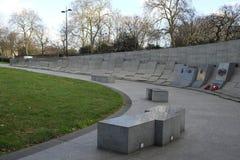 澳大利亚战争纪念建筑在海德公园,伦敦 免版税图库摄影