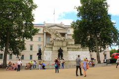 澳大利亚战争纪念建筑伦敦 免版税库存图片