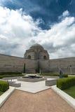 澳大利亚战争纪念建筑 库存照片