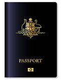 澳大利亚护照 图库摄影