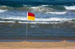 澳大利亚救生员在英属黄金海岸昆士兰澳大利亚 库存图片