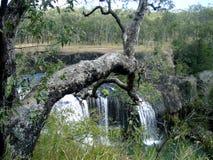 澳大利亚海岸美丽的瀑布  库存图片