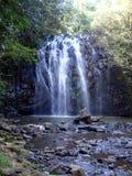 澳大利亚海岸美丽的瀑布  免版税库存照片
