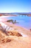 澳大利亚海湾横向斯宾塞 库存照片