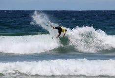 澳大利亚海滩男子气概的nat开放年轻人 免版税库存照片