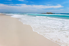 澳大利亚海滩 免版税图库摄影