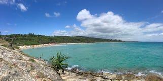 澳大利亚海滩天堂 库存图片