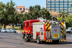 澳大利亚消防车 免版税图库摄影