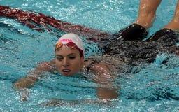 澳大利亚游泳者埃米莉・西博姆AUS 免版税库存照片