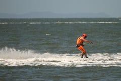 澳大利亚滑水橇赛跑 库存照片