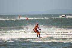 澳大利亚滑水橇赛跑 库存图片