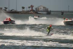 澳大利亚滑水橇赛跑 免版税库存图片