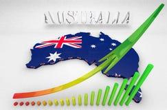 澳大利亚的例证 免版税库存图片