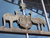 澳大利亚的国玺 免版税库存照片