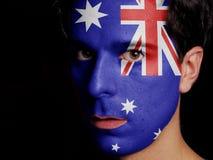 澳大利亚的旗子 免版税库存图片