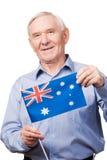 从澳大利亚的祖父 免版税库存图片