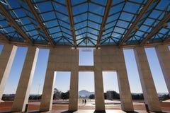 澳大利亚的议会安置 免版税图库摄影