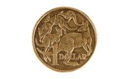 澳大利亚硬币美元 免版税库存图片
