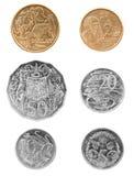 澳大利亚硬币 图库摄影