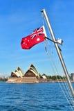 澳大利亚红色少尉 库存图片