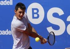 澳大利亚网球员伯纳德Tomic 免版税库存图片