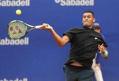 澳大利亚网球员尼克Kirgios 免版税库存照片