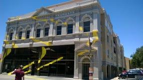 澳大利亚西部艺术显示的费利曼图市 免版税库存照片