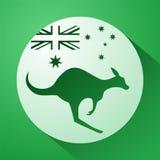 澳大利亚象征 库存例证