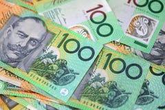 澳大利亚金钱 免版税库存图片