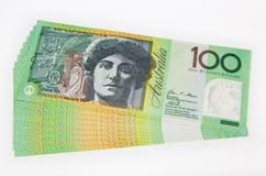 澳大利亚钞票 免版税图库摄影