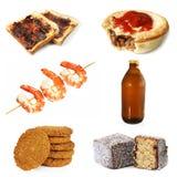 澳大利亚食物 免版税库存照片