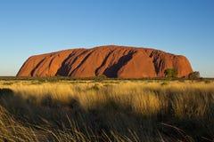 澳大利亚,北方领土,艾瑞斯岩石, Uluru 库存照片