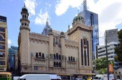 澳大利亚,维多利亚,墨尔本,论坛 免版税库存图片