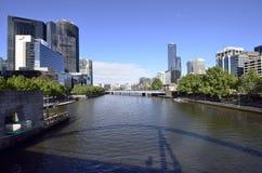 澳大利亚,维多利亚,墨尔本,雅拉河 免版税库存照片