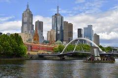 澳大利亚,维多利亚,墨尔本 免版税库存图片
