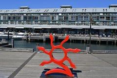 澳大利亚, NSW,悉尼,艺术品 免版税库存图片