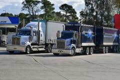 澳大利亚, NSW,运输,卡车 免版税库存照片