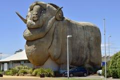 澳大利亚, NSW, Goulborn,雕塑 免版税库存照片