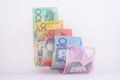 澳大利亚货币钞票所有衡量单位 免版税库存图片