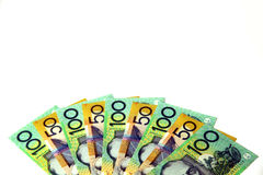 澳大利亚货币 免版税库存图片