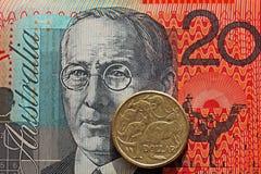 澳大利亚货币 图库摄影