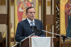 澳大利亚总理托尼・阿博特 免版税库存照片