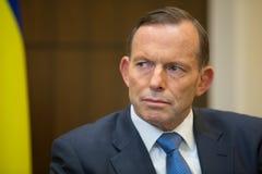 澳大利亚总理托尼・阿博特 库存照片