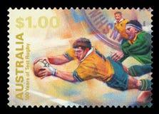 澳大利亚-邮票 图库摄影