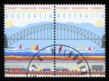 澳大利亚-邮票 免版税库存图片